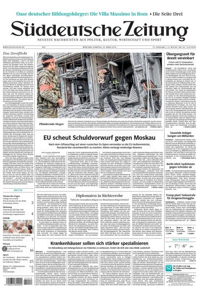 Süddeutsche Zeitung - 20 März 2018