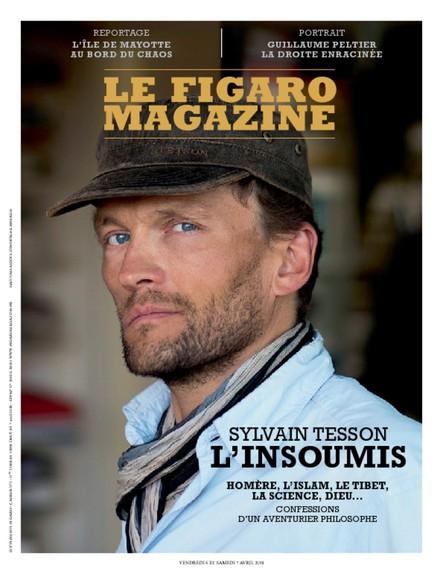 Le Figaro Magazine : Sylvain Tesson l'Insoumis