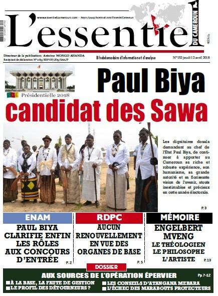 L'essentiel du Cameroun numéro 152