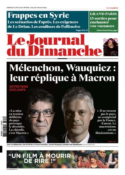 Journal du Dimanche - 15 Avril 2018
