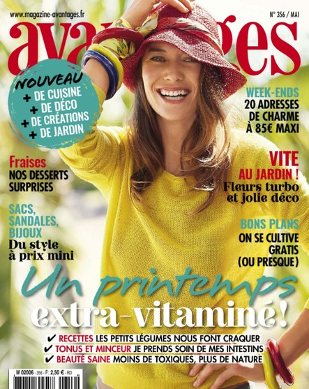 Avantages - Avril 2018 : Un Printemps Extra-Vitaminé !