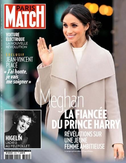 Paris Match N°3596 Avril 2018