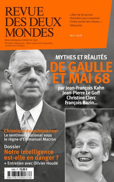 Revue des Deux Mondes mai 2018 : Quel héritage possible pour Mai 68 ?
