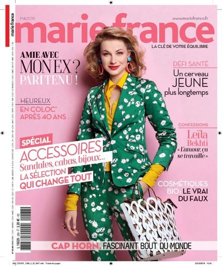 Marie France - Avril 2018