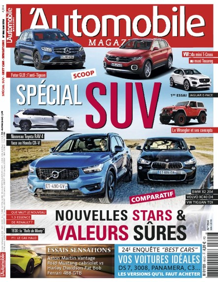 L'Automobile Magazine - Avril 2018