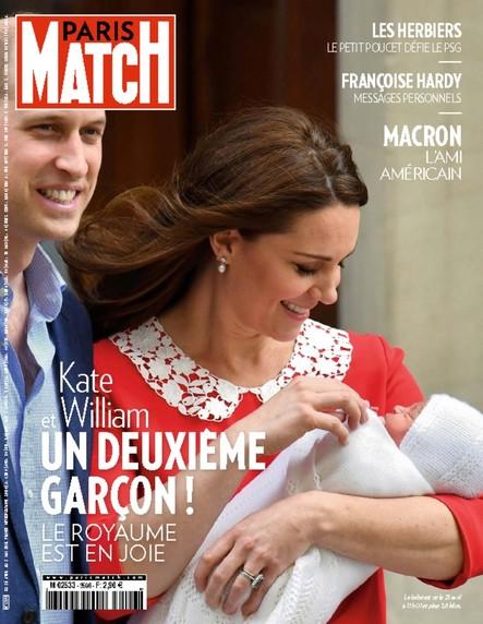 Paris Match N°3598 Avril 2018