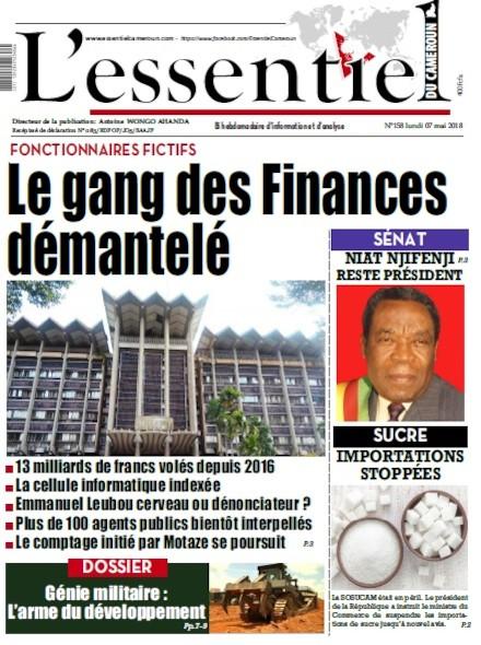 L'essentiel du Cameroun numéro 158