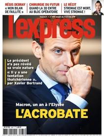 L'Express - Mai 2018 - L'acrobate |