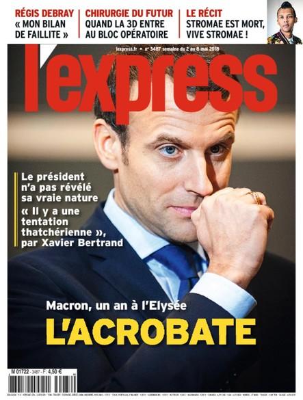 L'Express - Mai 2018 - L'acrobate