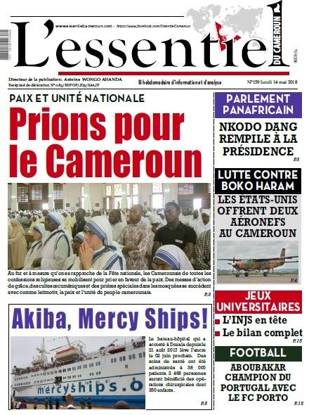 L'essentiel du Cameroun numéro 159