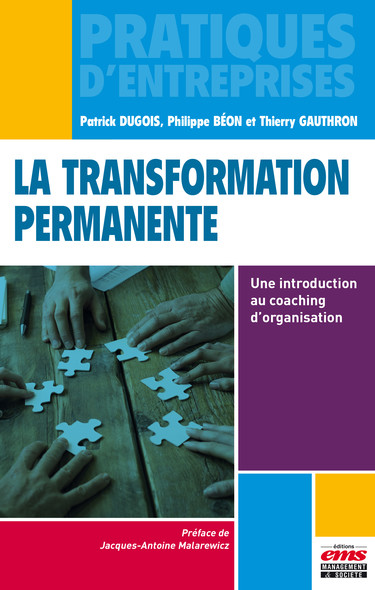 La transformation permanente : Une introduction au coaching d'organisation