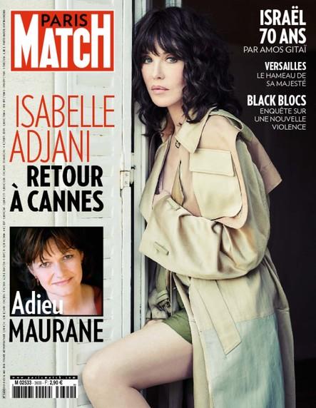 Paris Match N°3600 Mai 2018