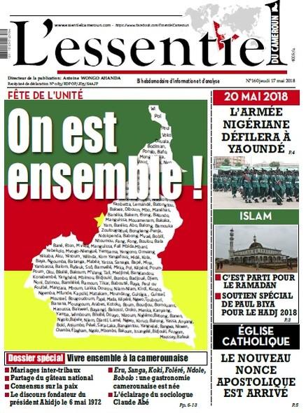 L'essentiel du Cameroun numéro 160