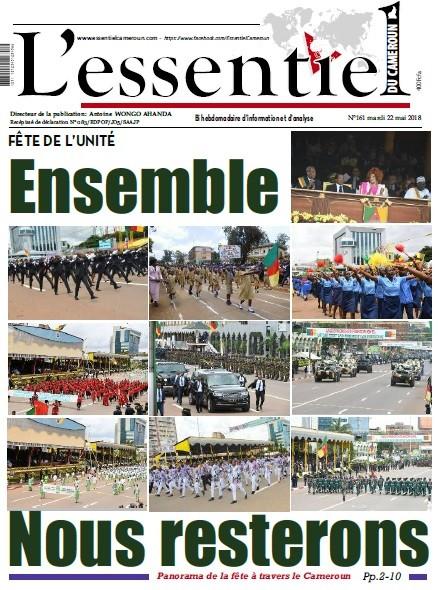 L'essentiel du Cameroun numéro 161