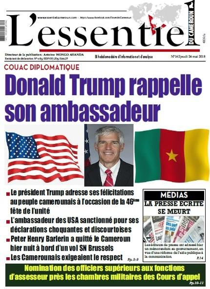 L'essentiel du Cameroun numéro 162