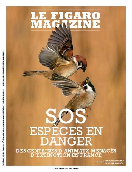 Figaro Magazine : SOS Espèces en danger