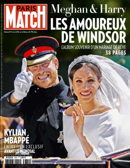 Paris Match N°3602 Mai 2018