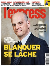 L'Express - Mai 2018 - Blanquer se lâche |