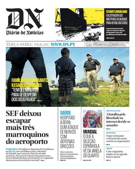 Diário de Notícias - 19 de junho 2018