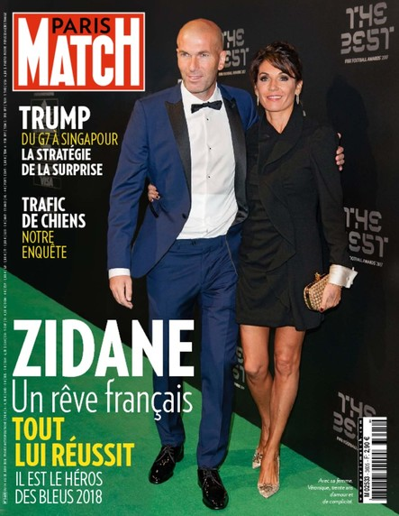Paris Match N°3605 Juin 2018