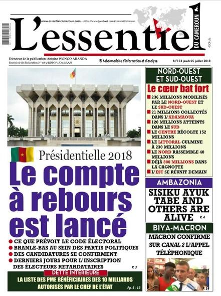 L'essentiel du Cameroun Numéro 174