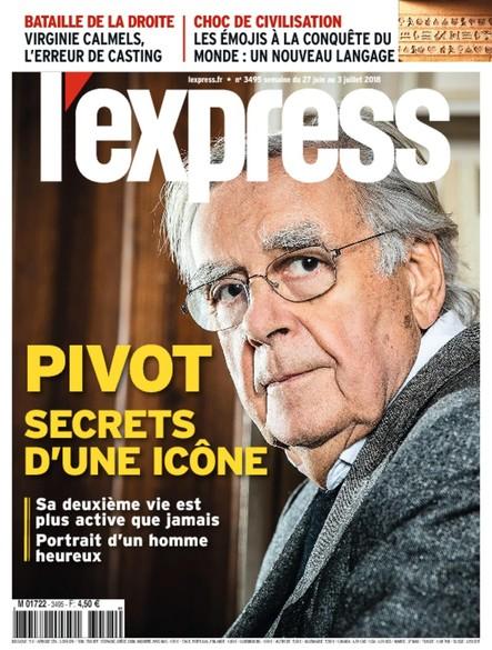 L'Express - Juin 2018 - Pivot, secrets d'une icône