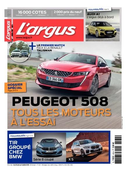 L'Argus - du 28 Juin au 14 Juillet 2018