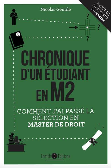 Chronique d'un étudiant en M2