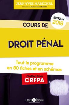 Cours de droit pénal | Jean-Yves Maréchal