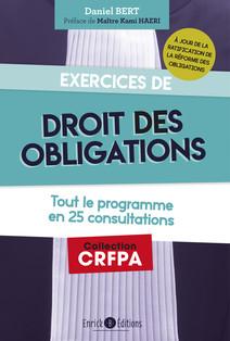 Exercices de Droit des Obligations | Bert, Daniel