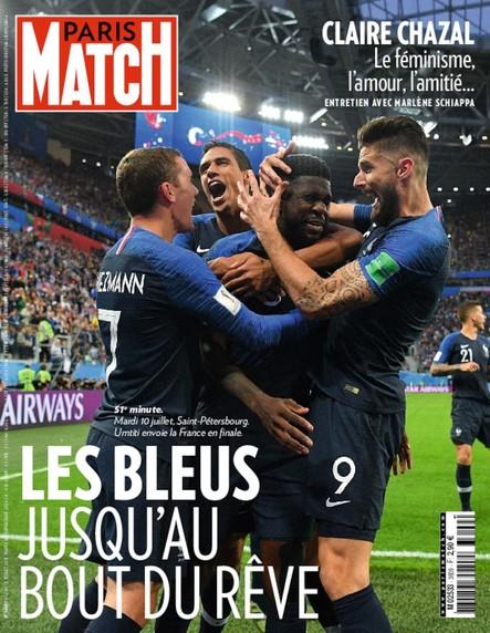 Paris Match N°3609 Juillet 2018
