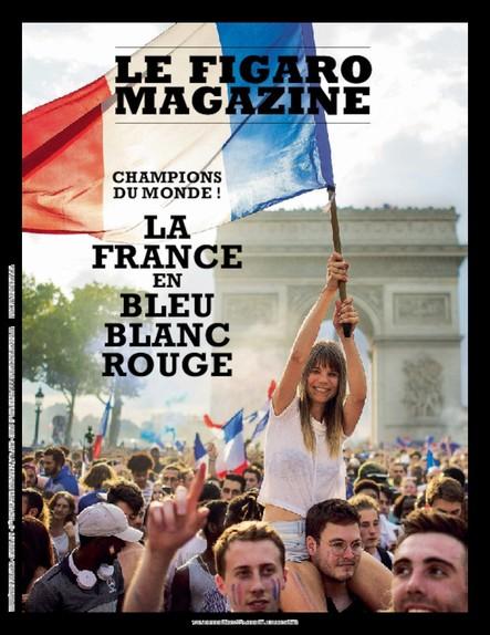 Le Figaro Magazine : La France en Bleu Blanc Rouge