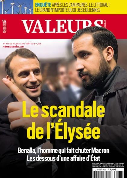 Valeurs Actuelles - Juillet 2018 - Le scandale de l'Elysée