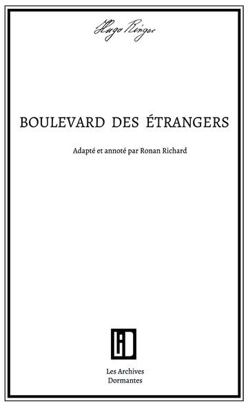 Boulevard des étrangers