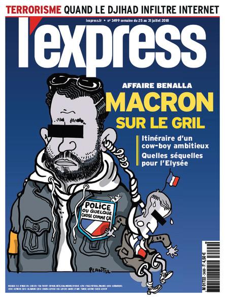 L'Express - Juillet 2018 - Macron sur le gril
