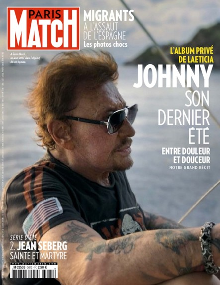 Paris Match N°3612 Août 2018