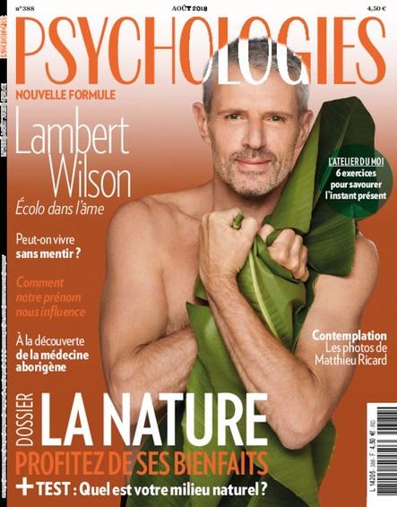 Psychologies Magazine - Juillet 2018