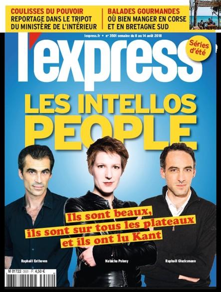 L'Express - Août 2018 - Les Intellos People