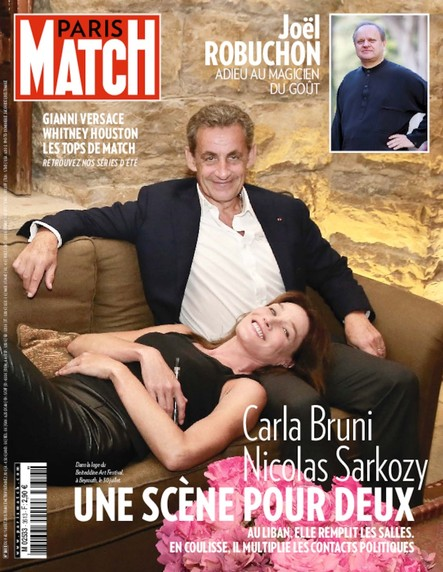 Paris Match - N°3613 Août 2018