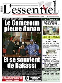 L'essentiel du Cameroun numéro 187 |