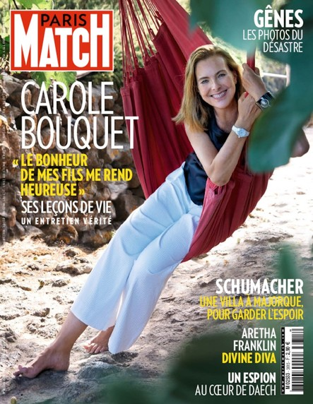 Paris Match N°3615 Août 2018