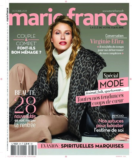 Marie France - Août 2018
