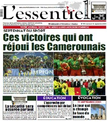 L'essentiel du Cameroun numéro 194 |