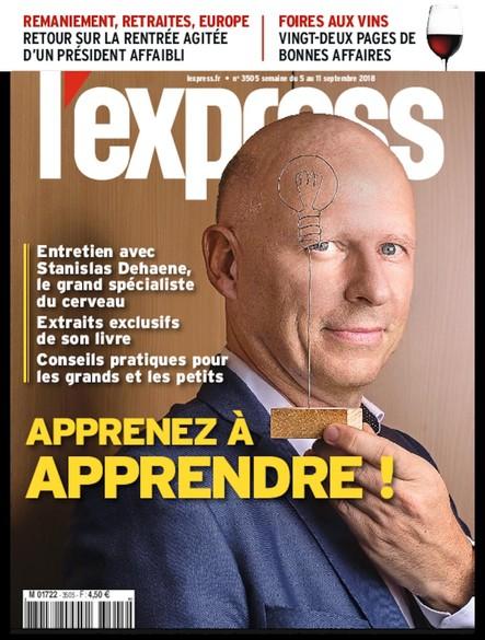 L'Express - Septembre 2018 - Apprenez à apprendre !