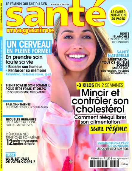 Santé Magazine - Septembre 2018