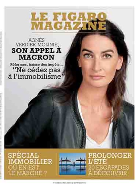 Figaro Magazine : Son Appel à Macron