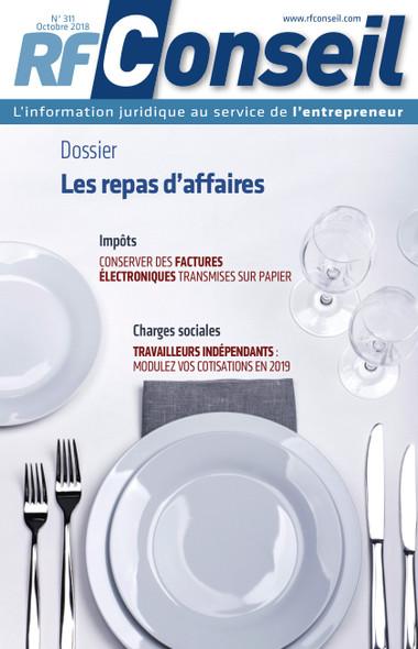 RF Conseil - Octobre 2018