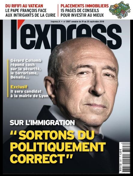L'Express - Septembre 2018 - Immigration : sortons du politiquement correct