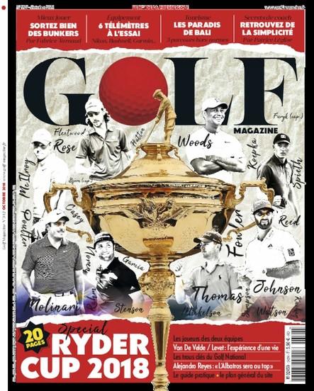 Golf Magazine - Septembre 2018