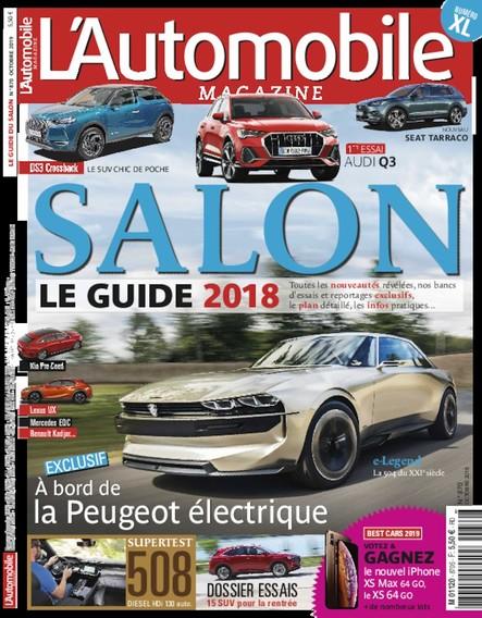 L'Automobile Magazine - Septembre 2018